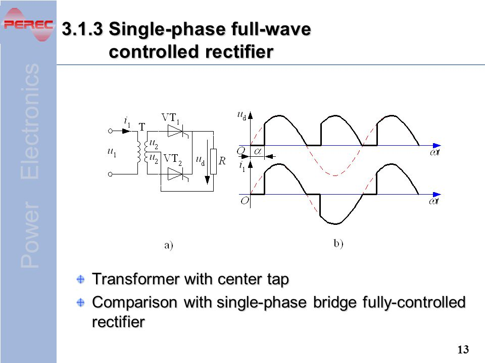 3.1.3 Single-phase full-wave controlled rectifier