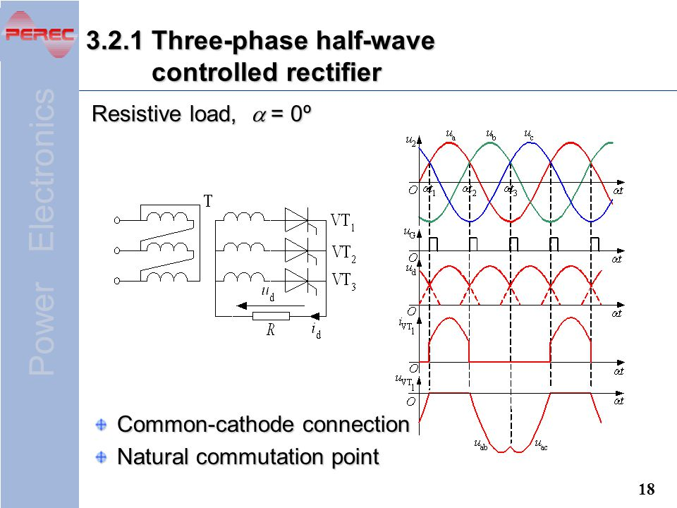 3.2.1 Three-phase half-wave controlled rectifier