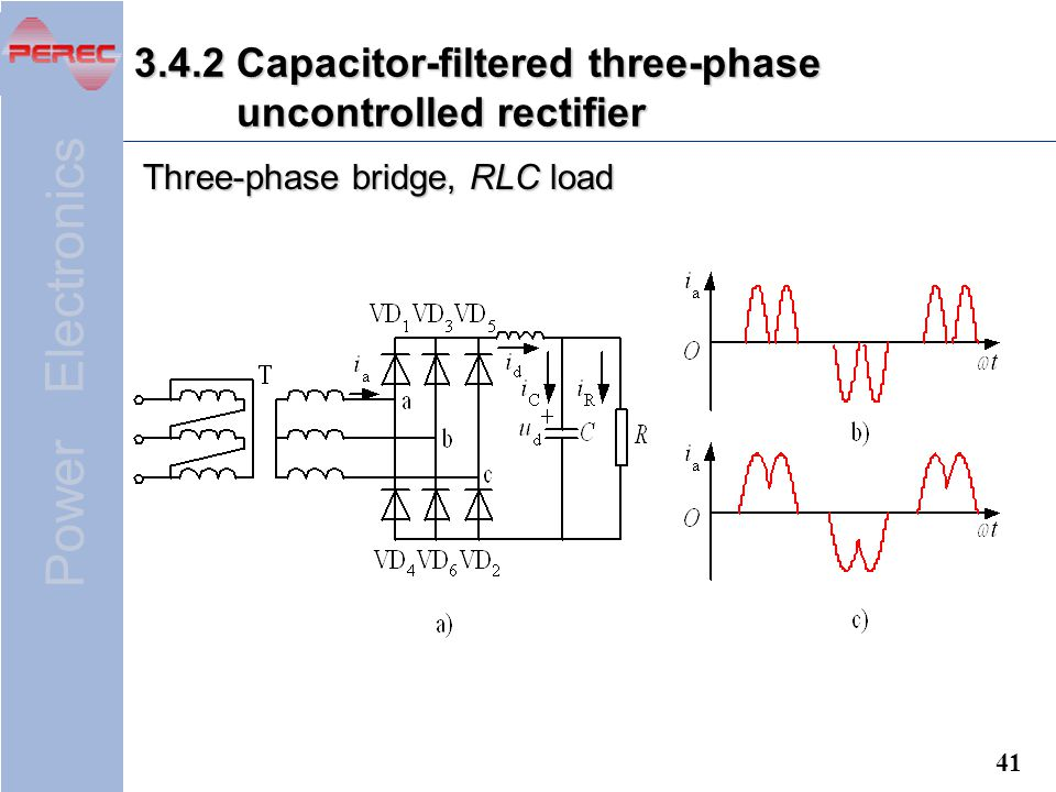 Power Electronics Chapter 3 AC to DC Converters (Rectifiers) - ppt on boost converter, flyback converter, uninterruptible power supply, 3 phase cable, 3 phase switchgear, 3 phase converter, 3 phase power supply, 3 phase signal, switched-mode power supply, 3 phase current, 3 phase cycloconverter, phase converter, 3 phase washer, 3 phase filter, 3 phase socket, variable-frequency drive, voltage doubler, 3 phase blender, silicon controlled rectifier, surge protector, 3 phase power inverter, 3 phase motor, 3 phase voltage, 3 phase contactor, electrical ballast, power inverter, 3 phase ac, 3 phase ic, 3 phase sensor, voltage multiplier, buck converter, 3 phase coil, circuit breaker, 3 phase wire, dc-to-dc converter,