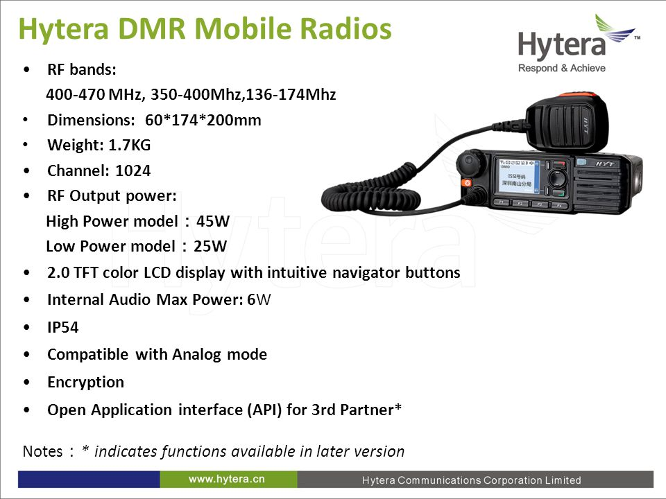 Hytera DMR Trunking System Intro - ppt video online download