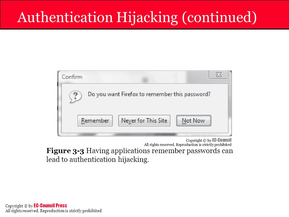 Authentication Hijacking (continued)