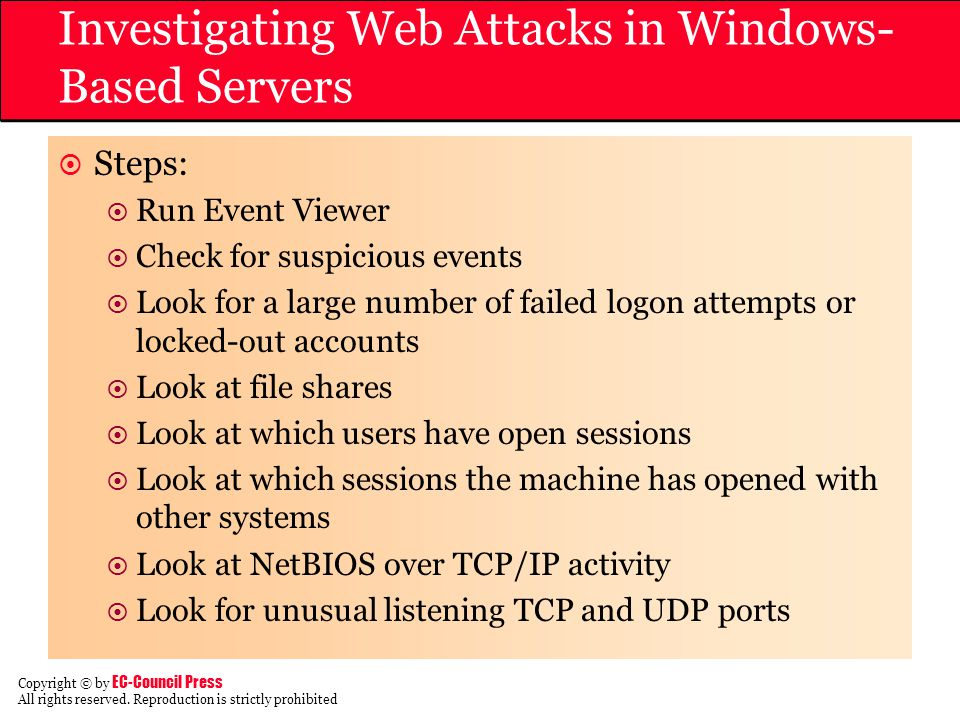 Investigating Web Attacks in Windows-Based Servers