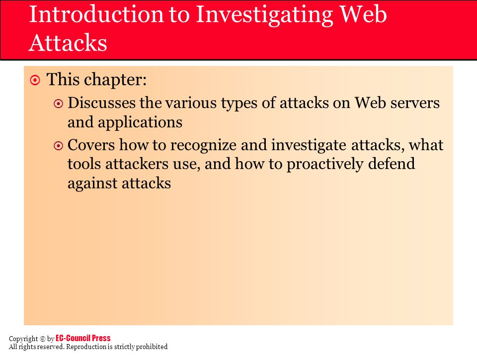 Introduction to Investigating Web Attacks