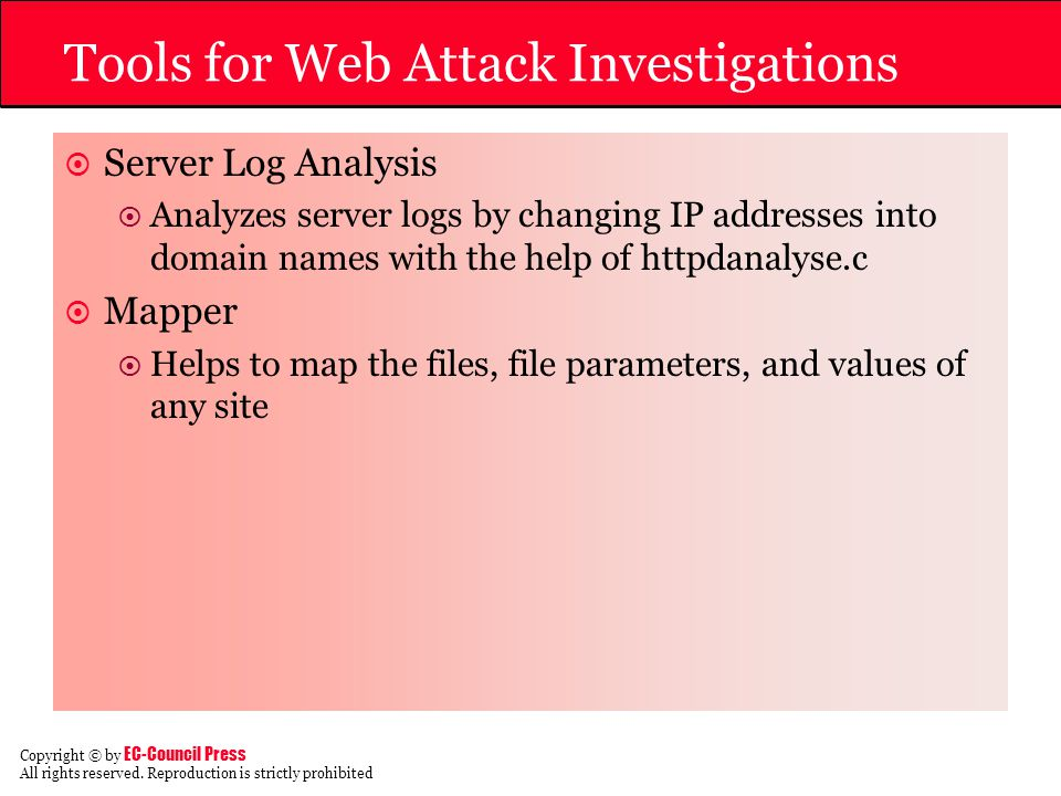 Tools for Web Attack Investigations