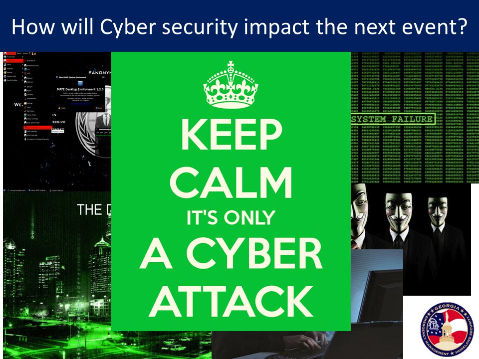 How will Cyber security impact the next event