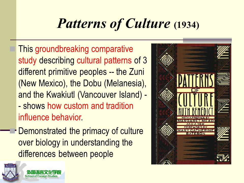 Unit 40 The Science Of Custom Ppt Video Online Download Cool Patterns Of Culture