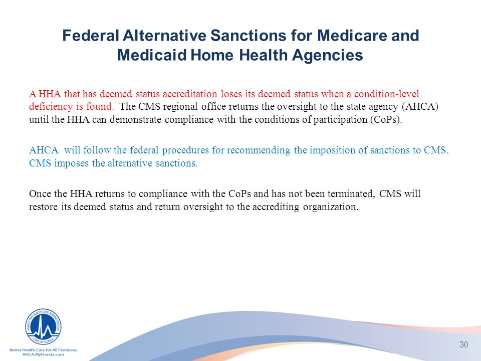 Ahca Home Health Regulatory Update Ppt Download