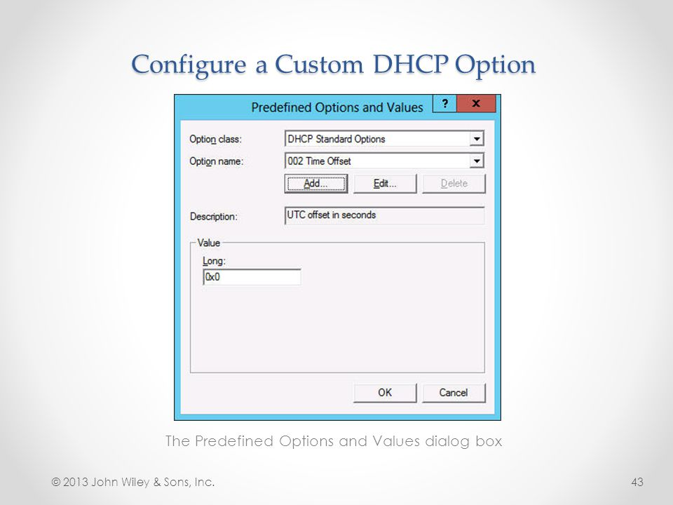 Dhcp Option 43