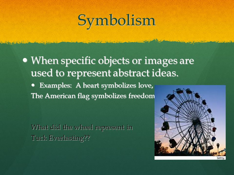 an analysis of symbolism in used to describe amandas life Examples of symbolism dream analysis what is the first thing that comes to mind when you say religious symbolism the use of text, images, procedures and actual physical objects to convey a as mentioned above, symbolism has become an important part of our lives as it is used to depict.