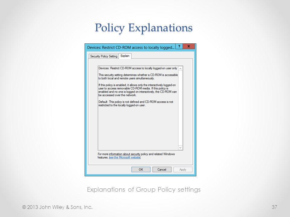 Lesson 16: Creating Group Policy Objects - ppt video online