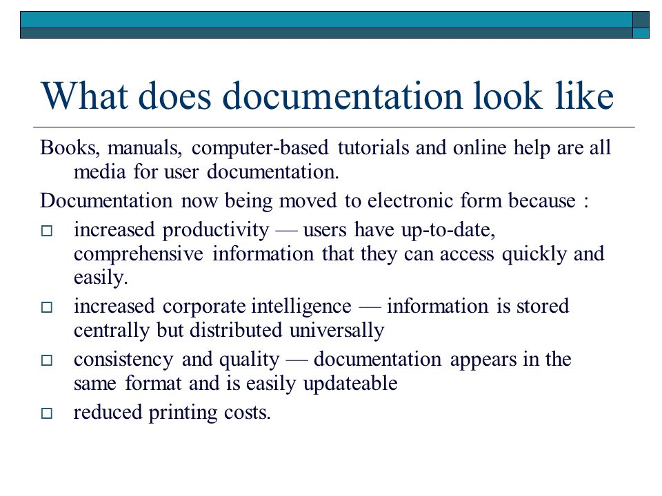 how to create online help documentation