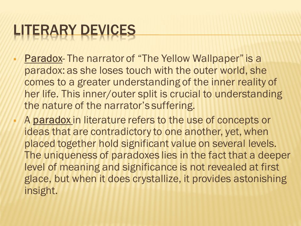 The Yellow Wallpaper Foreshadowing Writing An Admission