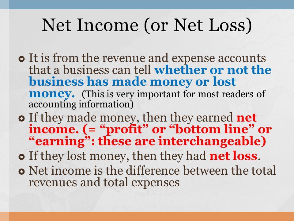 net loss