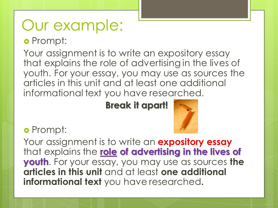 Health Essays Our Example Prompt Should The Government Provide Health Care Essay also An Essay About Health How Do I Write An Expository Essay  Ppt Video Online Download Higher English Reflective Essay