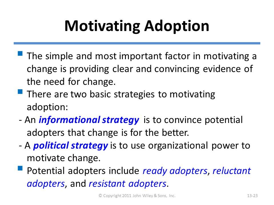 Enabling Adoption: Training