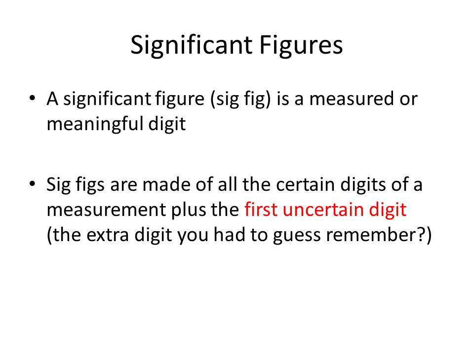 Significant Ures A Ure Sig Is Measured Or. Significant Ures A Ure Sig Is Measured Or Meaningful Digit. Worksheet. Sig Fig Worksheet At Mspartners.co