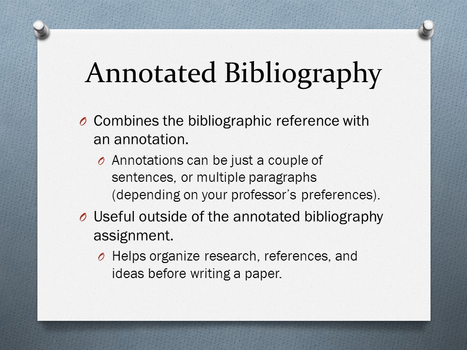 automatic annotated bibliography Annotated bibliography  this work has firstly presented an evaluation on various well-known approaches for automatic segmentation of various image data.