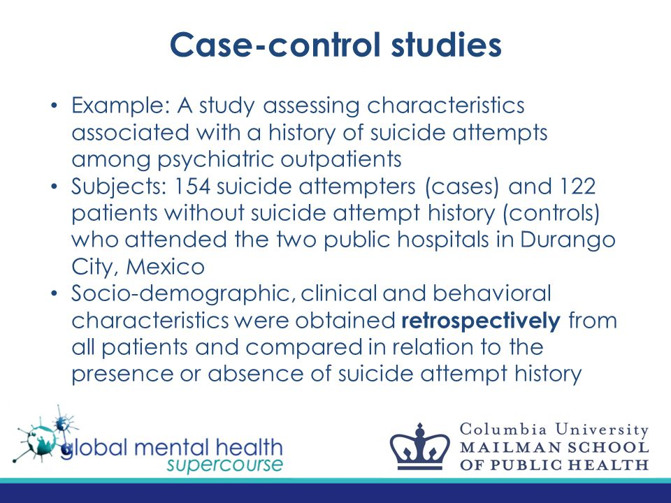 Methodological foundations of psychiatric epidemiology - ppt
