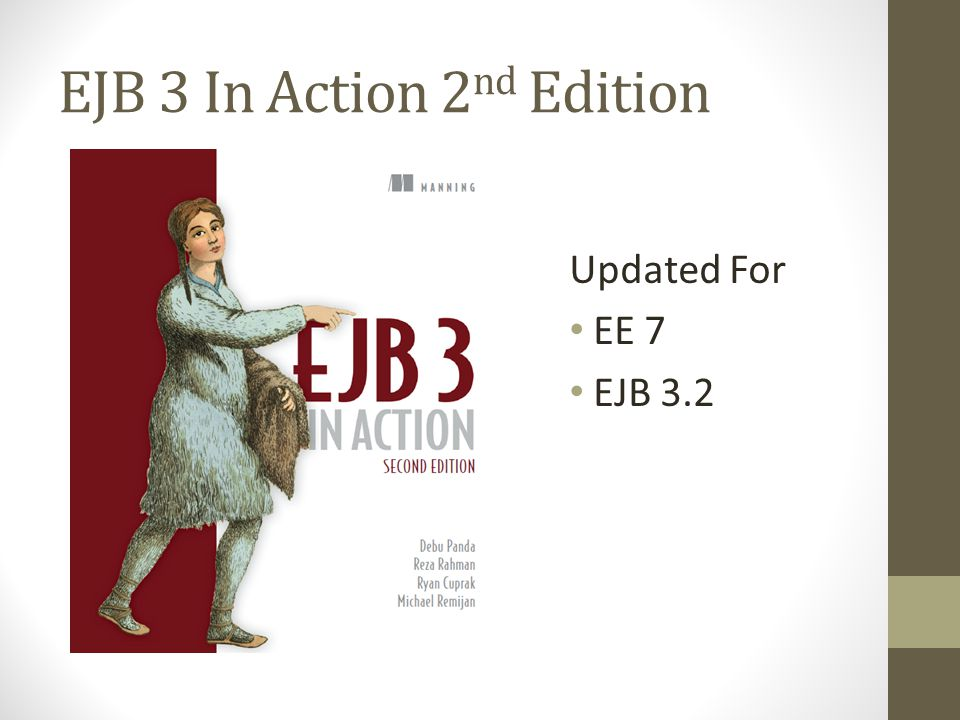 EJB 3 In Action 2nd Edition