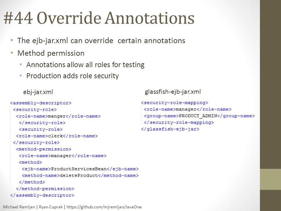 #44 Override Annotations