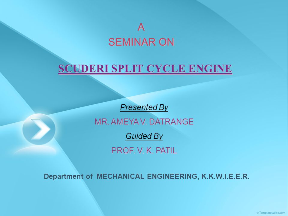 SCUDERI SPLIT CYCLE ENGINE