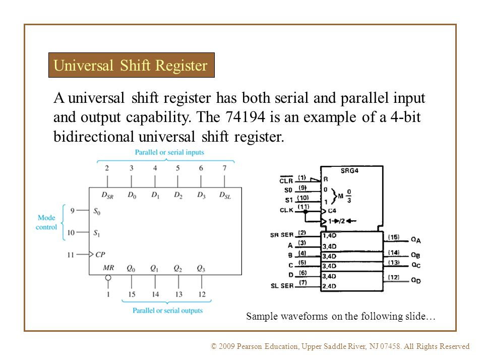 Eet 1131 Unit 12 Shift Registers Ppt Video Online Download