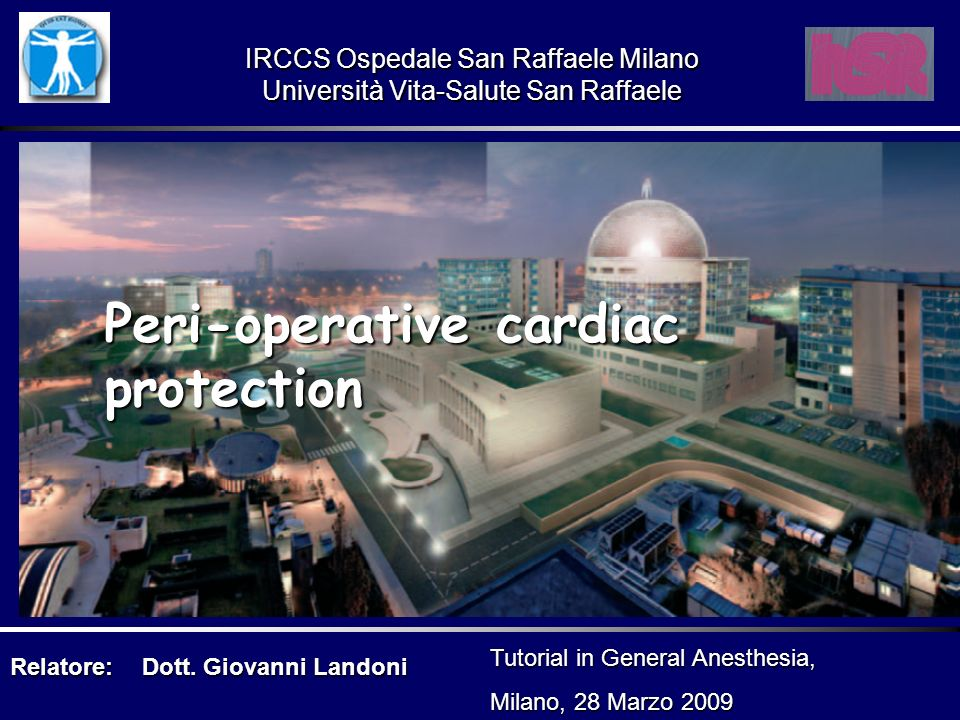 Peri-operative cardiac protection
