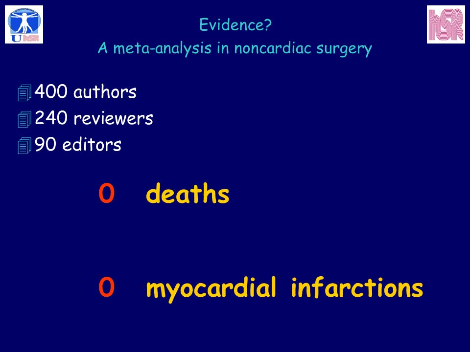 A meta-analysis in noncardiac surgery