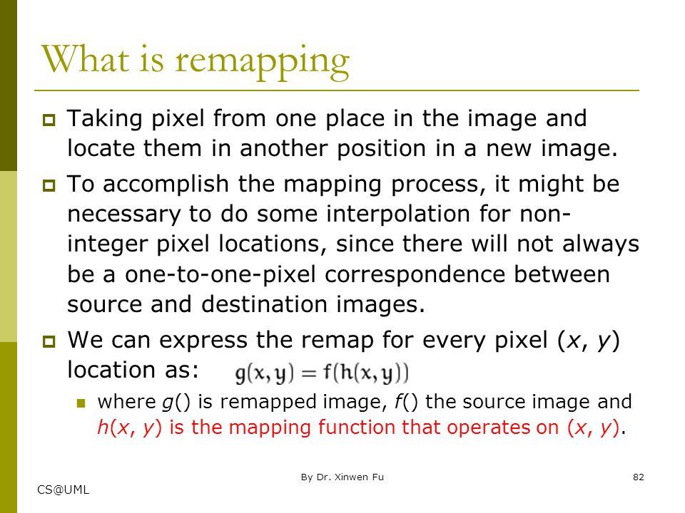 Chapter Three: imgproc module Image Processing Part I Xinwen Fu