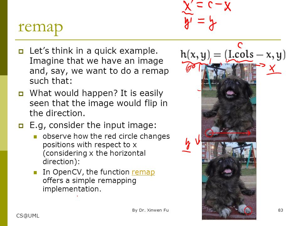 Chapter Three: imgproc module Image Processing Part I Xinwen