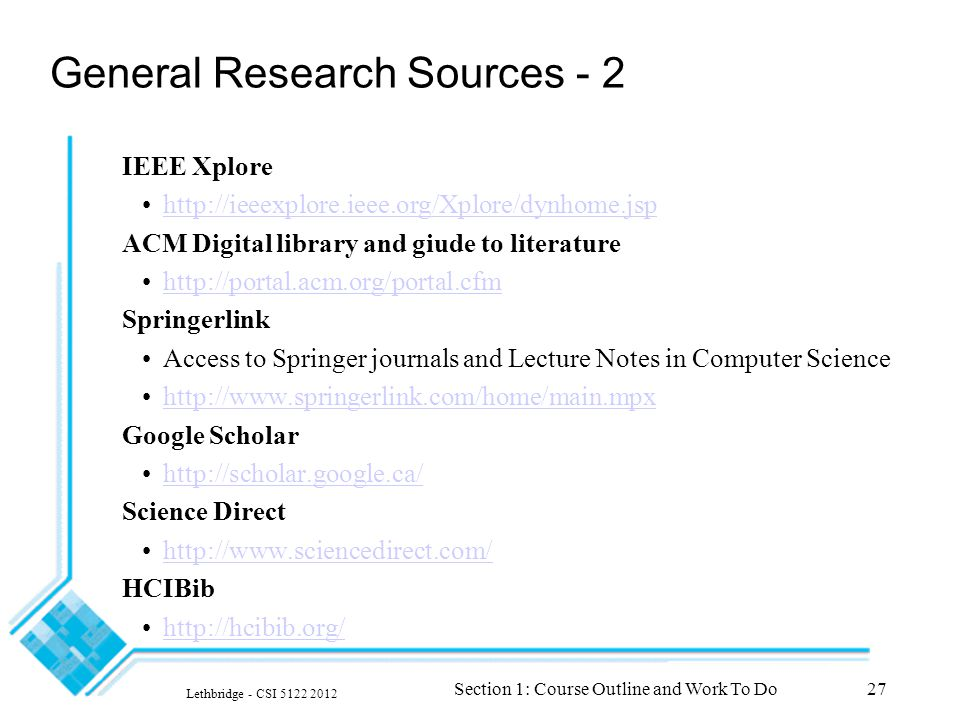 research source notes Journalistic sources should always be balanced by scholarly sources how can you tell if a source is scholarly after all, what is the point of a research paper in a college course.