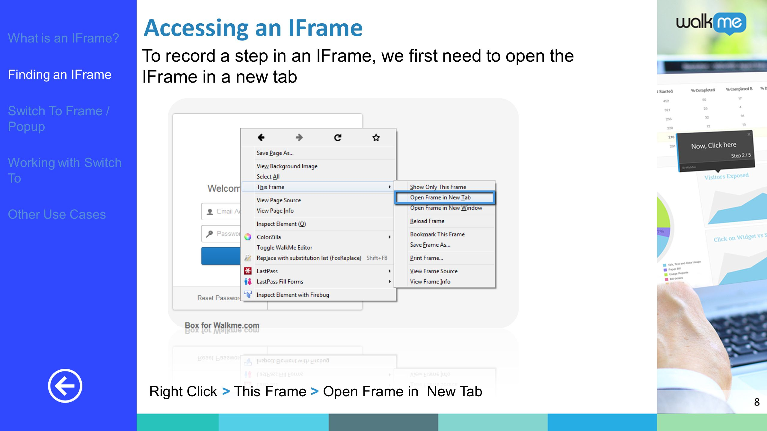 Working with IFrames  - ppt download