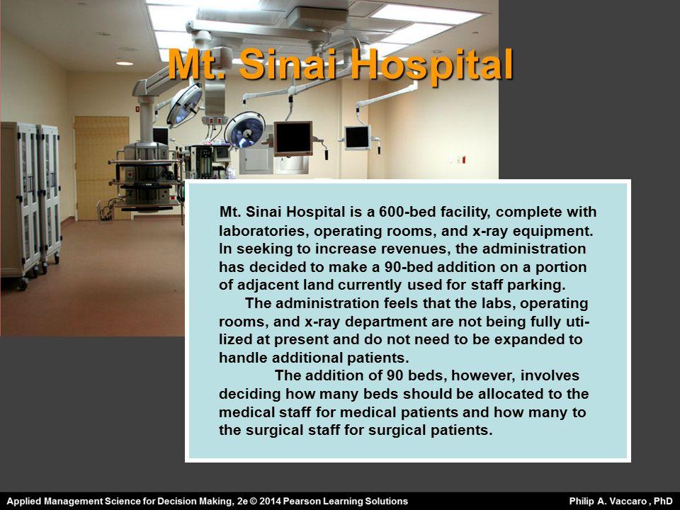 Hospital Expansion Problem - ppt video online download