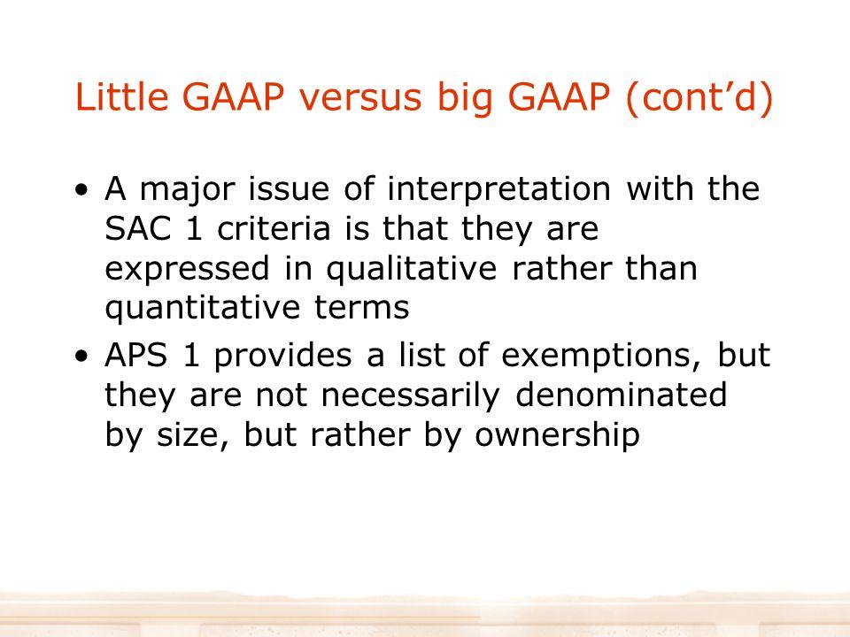little gaap