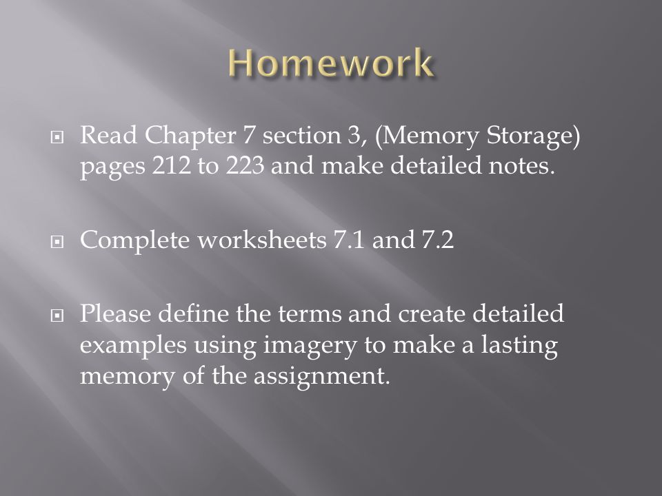 PSYCHOLOGY 0246115   chapter 7 review questions and answers likewise Memory in addition PPT   Chapter 7  Memory PowerPoint Presentation   ID 2017841 additionally Answer Key additionally  as well Learning and Memory  Section 4  Chapter 7  Neuroscience Online  An furthermore Psychology Memory Activity   Worksheets   Teachers Pay Teachers additionally Unit 2 Memory   Hardin Jefferson High additionally v Motivated Forgetting 1 Repression Freud Theory Refers to keeping likewise 9 1 Memories as Types and Stages – Introduction to Psychology – additionally Reading 14 further  further Chapter 7   States of Consciousness   Stimulant   Sleep in addition How We Make Memories  Crash Course Psychology  13   YouTube additionally Chapter 7 outline in addition Chapter 6  Memory. on chapter 7 memory psychology worksheet