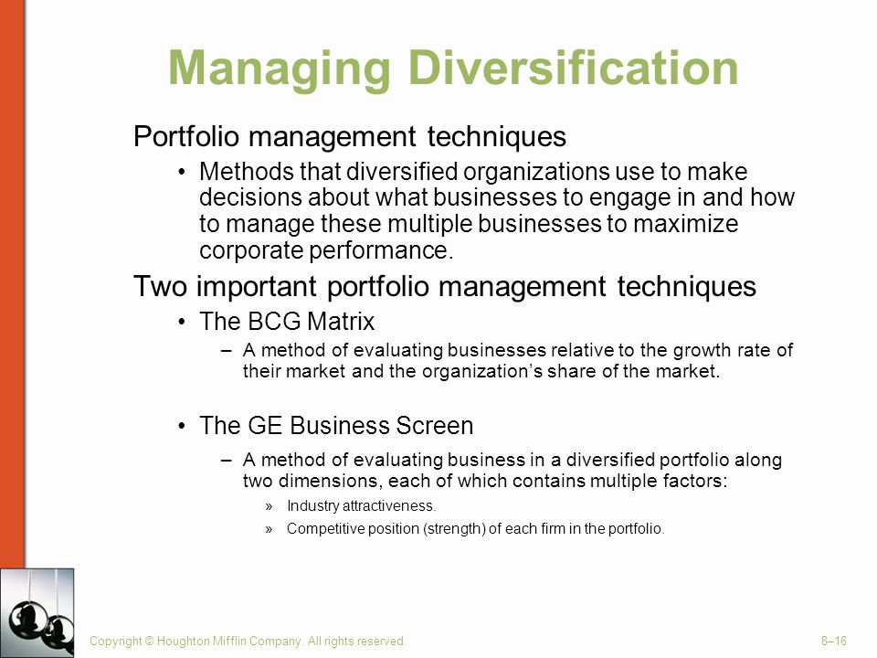 Managing Diversification