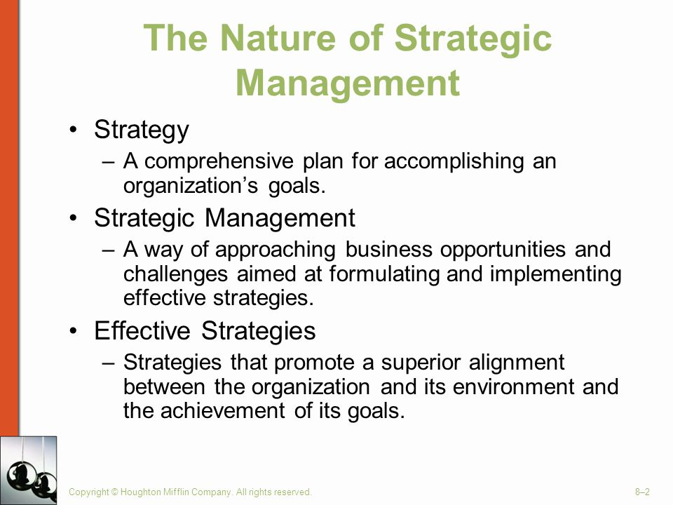 The Nature of Strategic Management