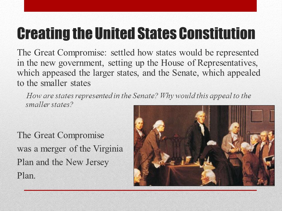Creating the United States Constitution