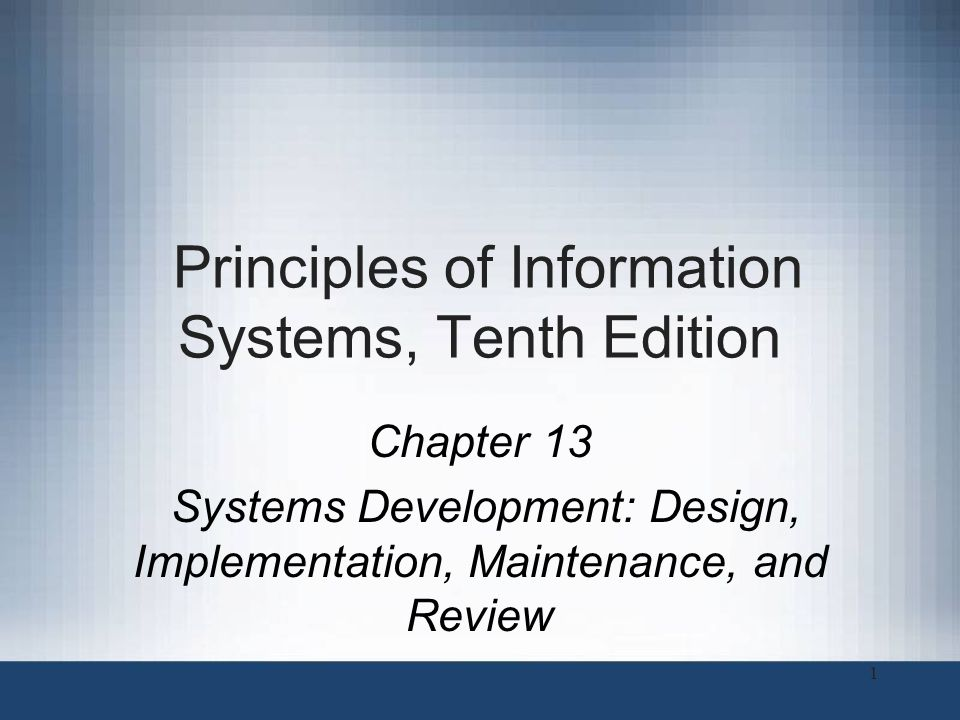 Principles Of Information Systems Tenth Edition Ppt Download