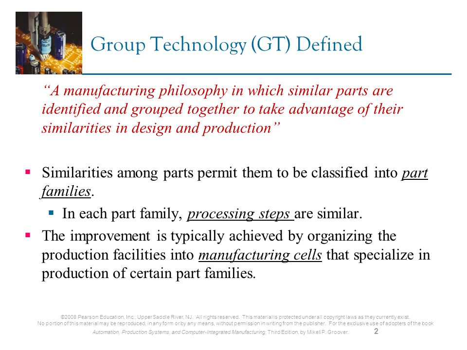 Ch 18 Cellular Manufacturing - ppt download