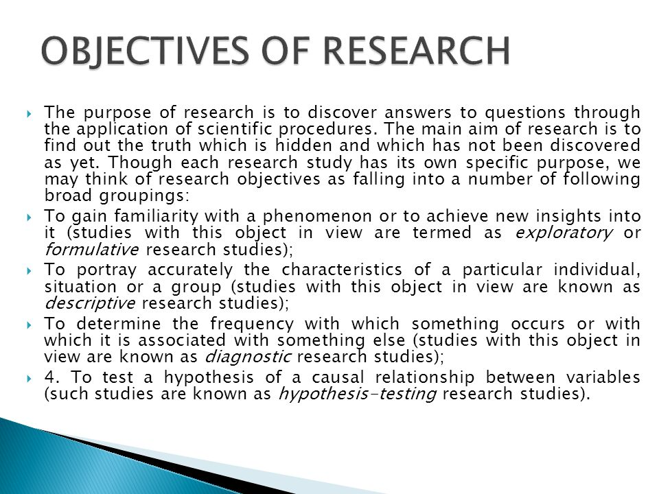 Research - AIMS