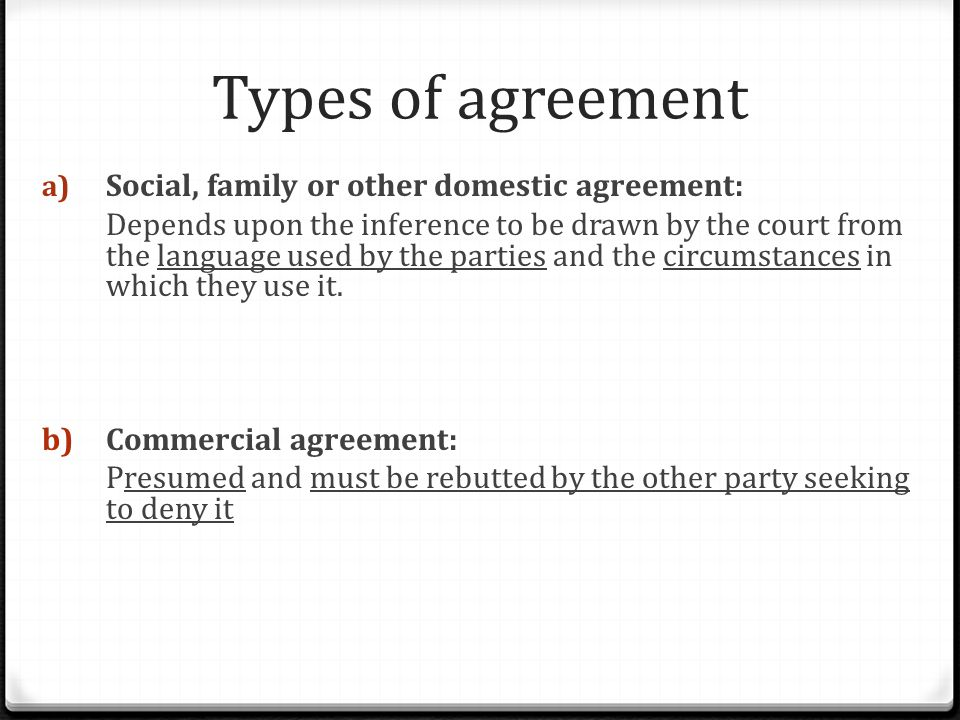 Intention To Create Legal Relationship Ppt Video Online Download