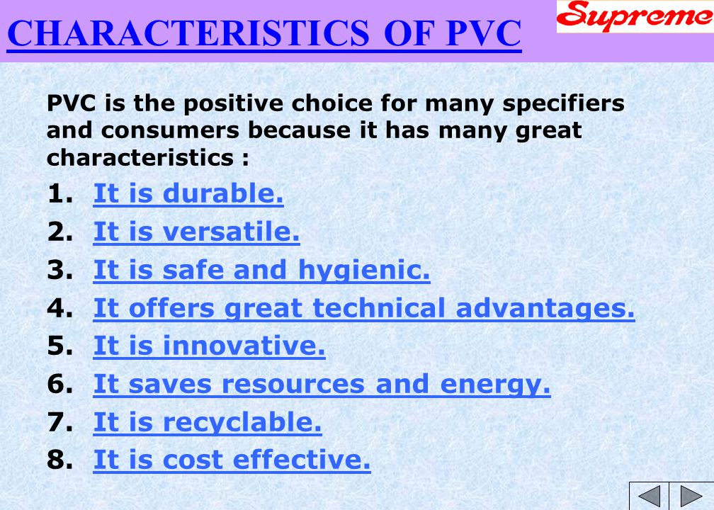 types of pvc pipes pdf