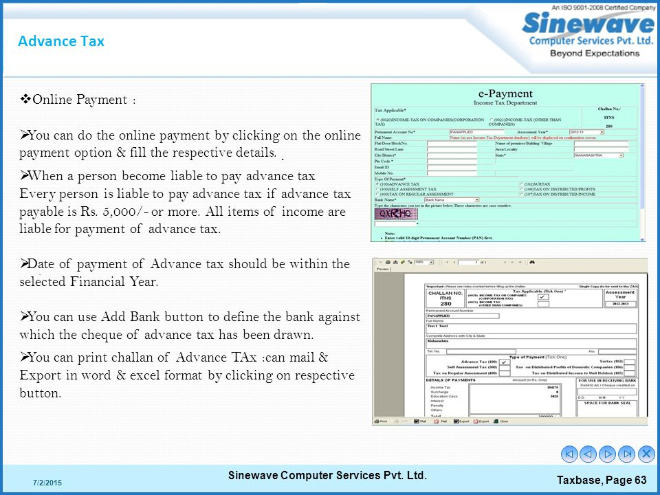 Taxbase Gold  - ppt download