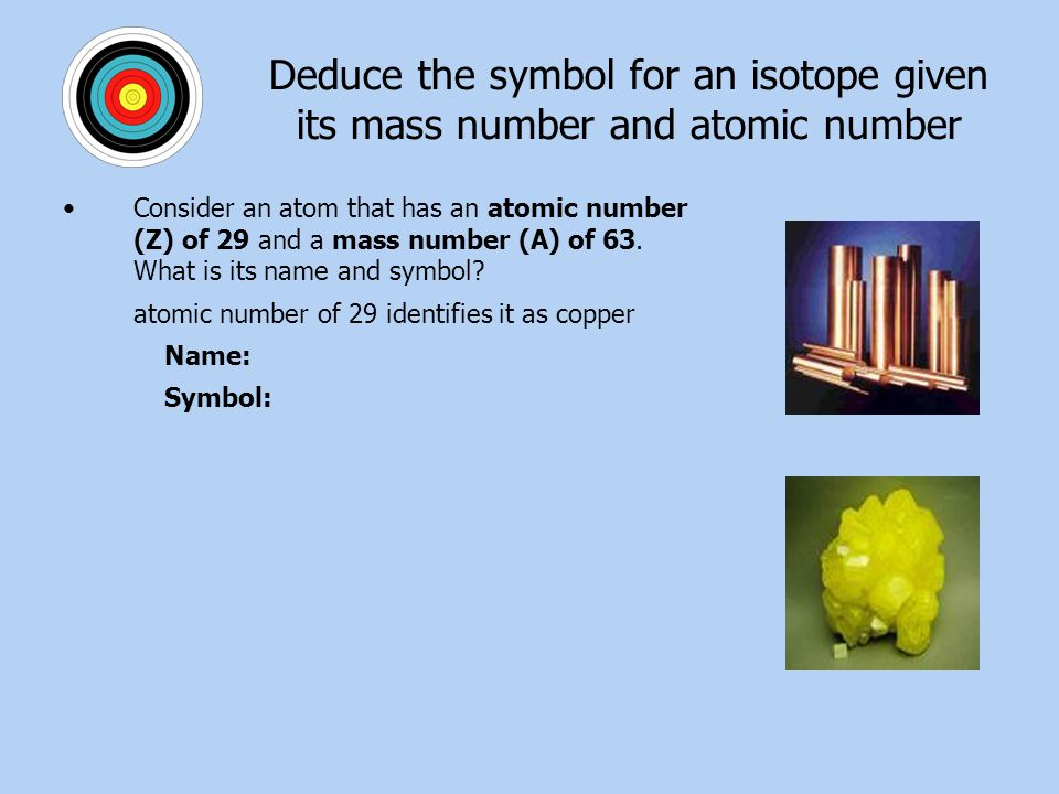 Ch 5 Atomic Structure Standards Matter Consists Of Atoms That
