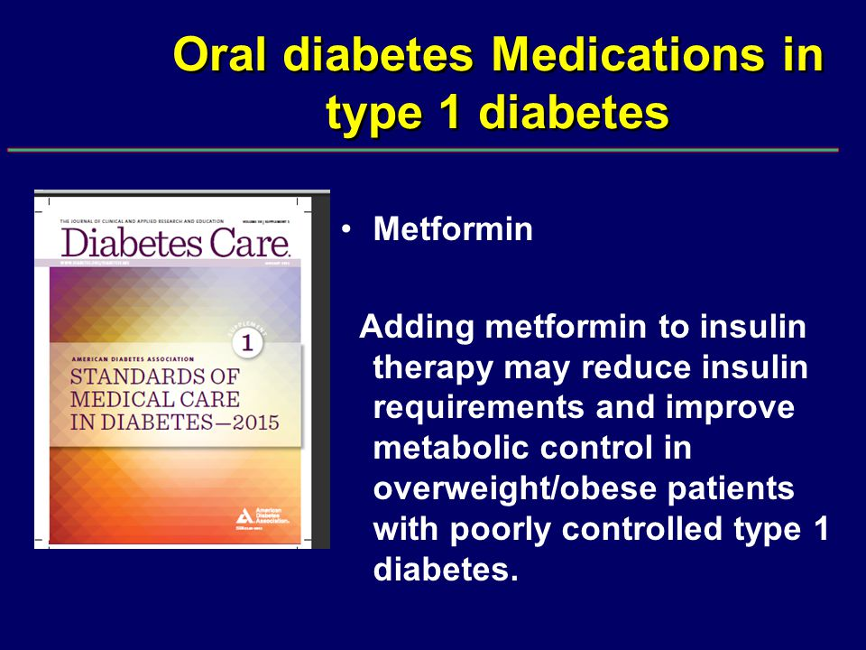Oral Diabetes Medications Ppt Download