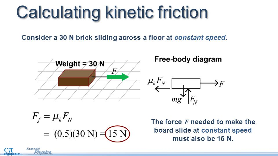 friction there are many forms of friction  this lesson