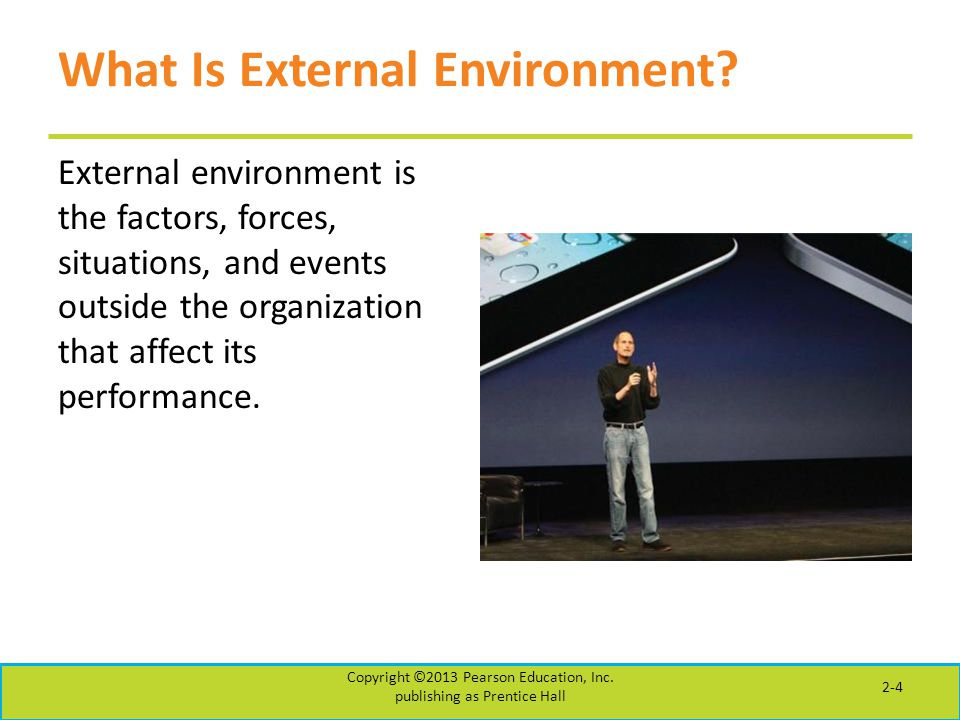 What Is External Environment