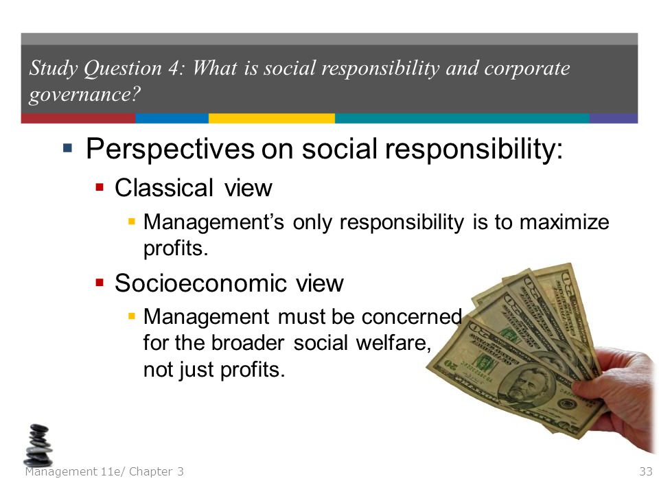 Perspectives on social responsibility: