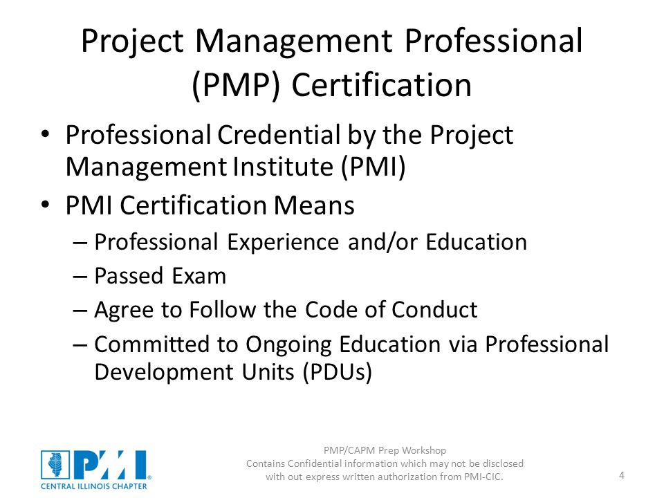 Pmpcapm Prep Workshop Intro And Scope Ppt Download